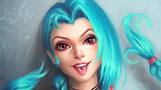 Jinx League of Legends - Fond d'écran en Full HD