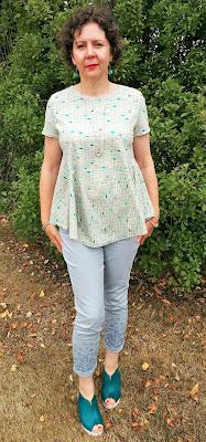 Creates Sew Slow: Janis Sandbar top