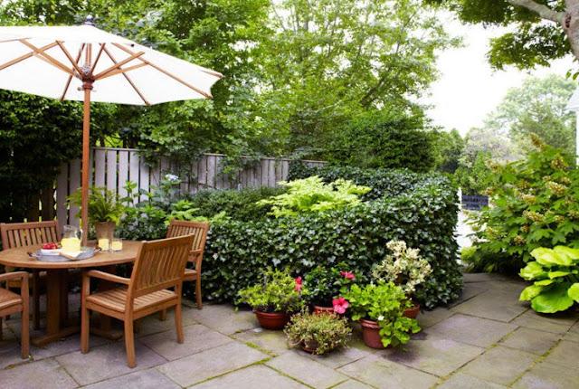 desain taman belakang pada rumah minimalis - Desain rumah idaman