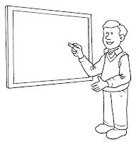 דף צביעה מורה לחשבון