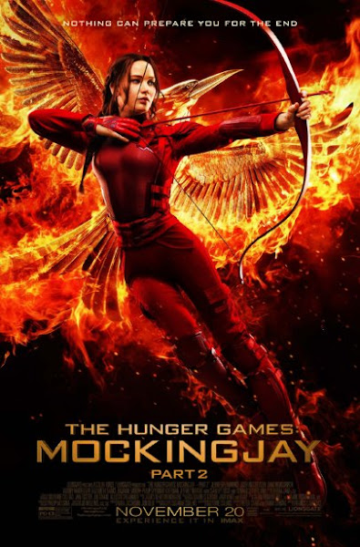 Poster Of The Hunger Games Mockingjay Part 2 (2015) 720p English BRRip Full Movie