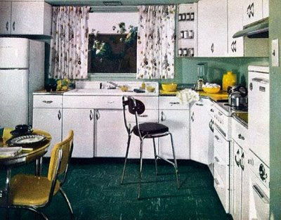 1950 - Fifties Kitchens's Atomic Ranch House: You Have A Right To Define YOUR 50's Style