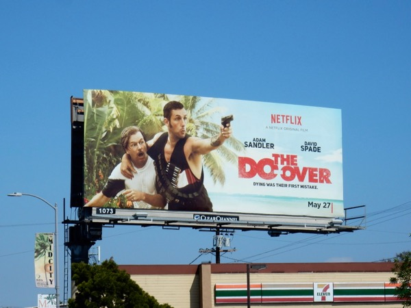Do-Over movie billboard