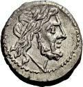Victoriato - 211 a.C. - Crawford 44/1 - anverso