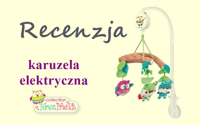 13. Test karuzeli Forest Friends od Canpol Babies