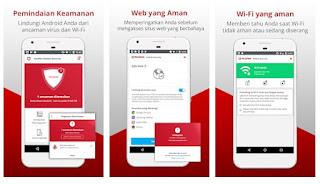 aplikasi antivirus McAfee Mobile Security & Lock