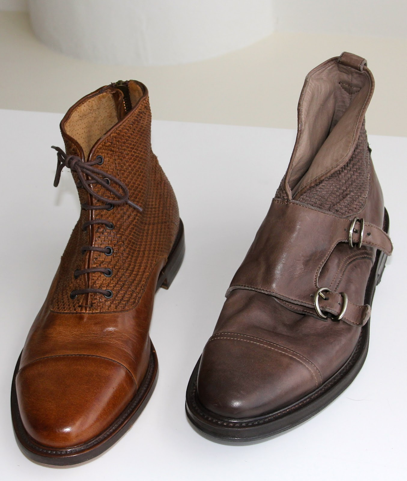 ef2a55de9d4488 rich burnt oxblood and brown-elegant lasts are slim-not clunky looking