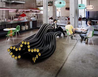 Diseño industrial de sillón
