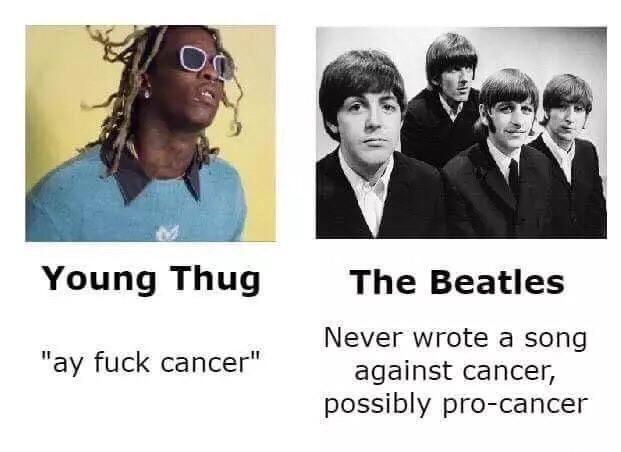 Young Thug vs The Beatles