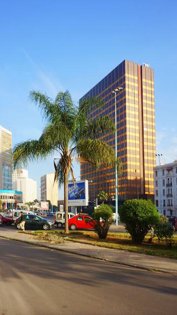 Изображение здания на бульваре Зее У Ма в Касабланке