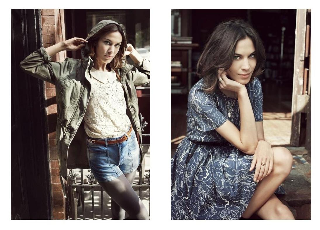 Love Clothing: Vera Moda: Alexa Chung S/S Campaign 2012