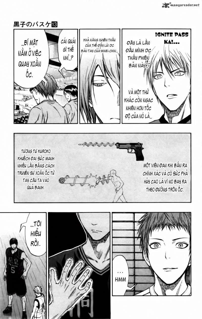 Kuroko No Basket chap 116 trang 10