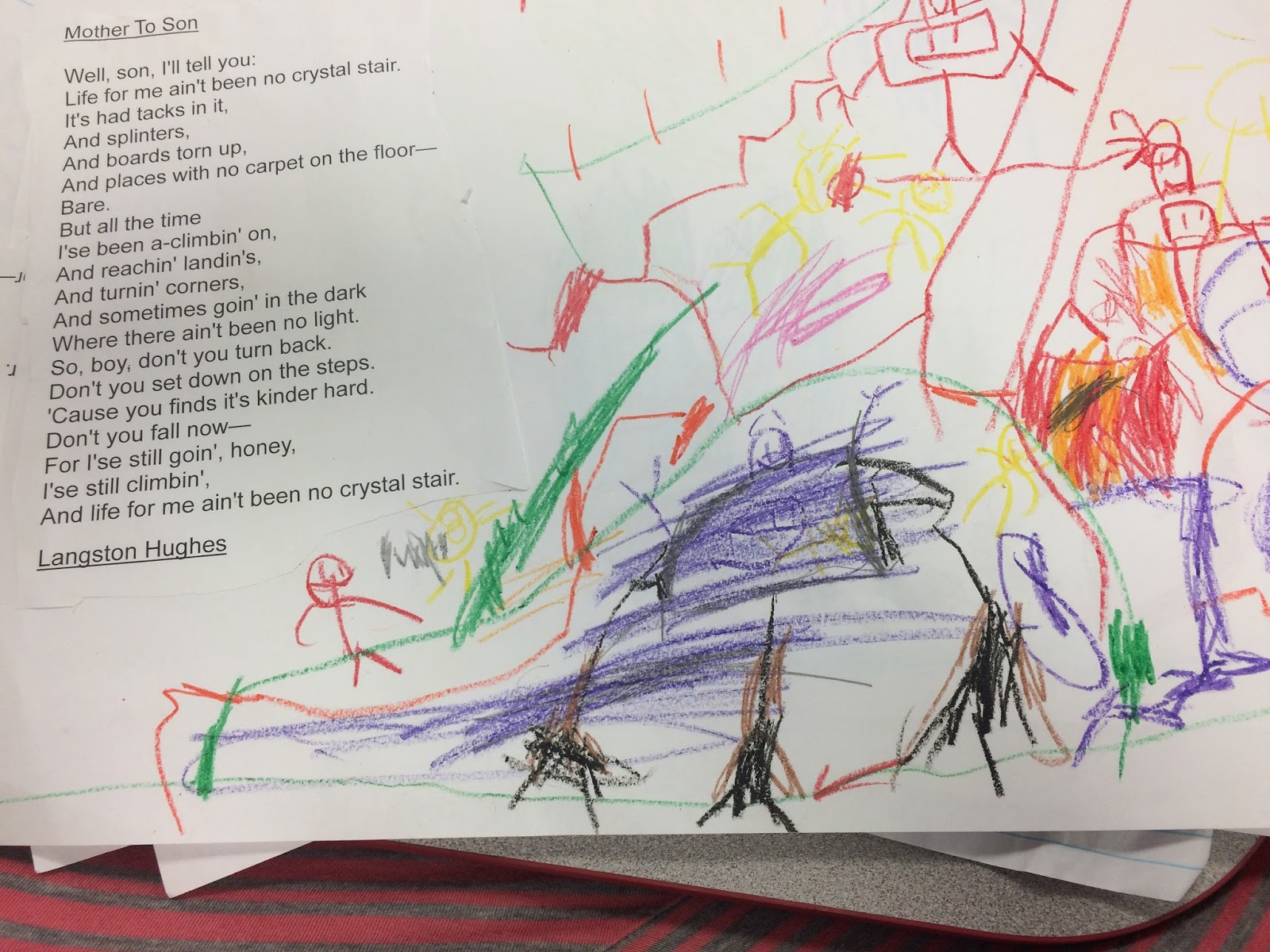 small resolution of and these are the illustrations from my kiddos of this poem
