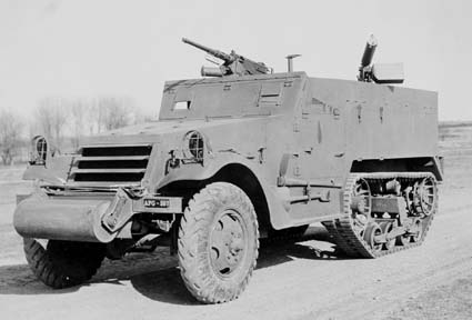 9 April 1941 worldwartwo.filminspector.com M2 Halftrack Aberdeen Proving Ground