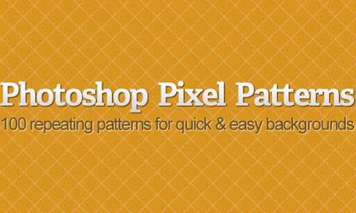 Photoshop Pixel Patterns