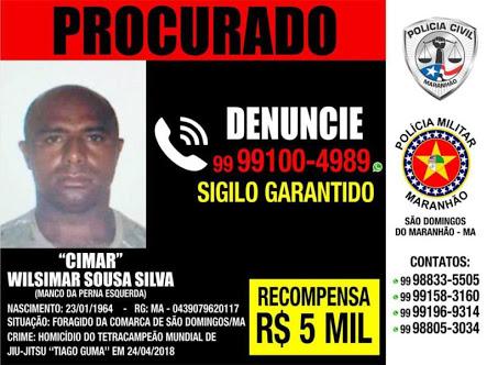URGENTE - Polícia encontra e mata homicida do lutador Tiago Guma de São Domingos.