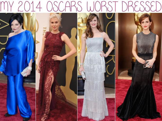 2014 Oscars worst dressed