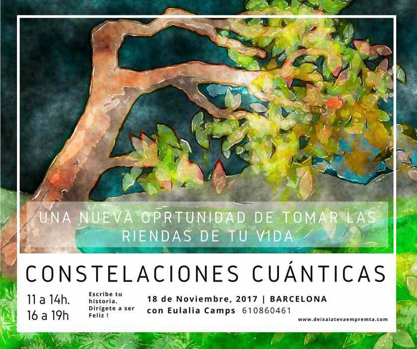 Constelaciones cuánticas, taller organizado por deixalatevaempremta.org