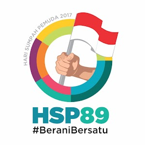 Logo Hari Sumpah Pemuda Tahun 2017 HSP 89 #BeraniBersatu