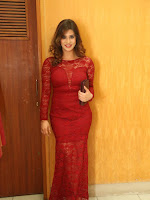 Actress Nandini sizzling in red-cover-photo