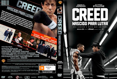 Filme Creed: Nascido Para Lutar DVD Capa