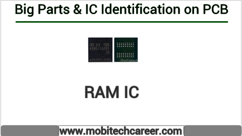 How to identify Ram ic on pcb of a mobile phone | All IC identification on PCB circuit diagram | Mobile Phone Repairing Course | iphone Repair | cell phone repair Hindi me