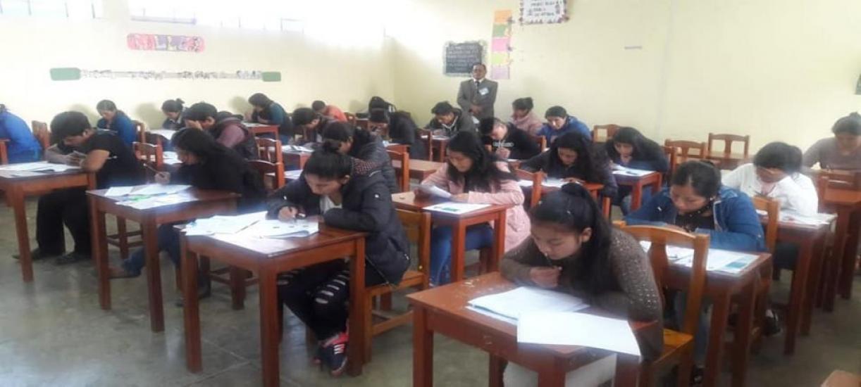 Examen de admisión a los Institutos Pedagógicos de la región Áncash se desarrolló con toda normalidad