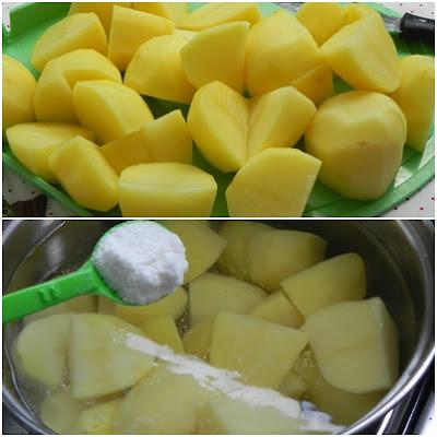 como fazer purê de Batatas