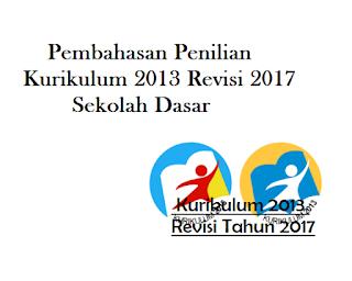 Contoh Penilian K13 Revisi 2017 SD