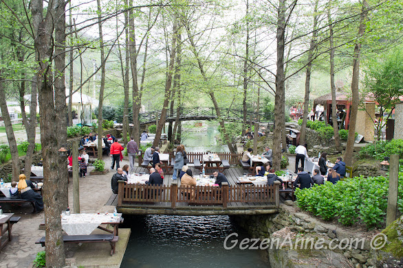 Güzel bir doğa içinde kahvaltı edilmek istendiğinde Sapanca, Natürköy