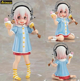 Figura Super Sonico Young Tomboy Ver.