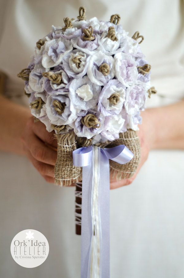 Tutorial Bouquet Sposa.Ork Idea Atelier Tutorial Come Fare Un Bouquet Da Sposa