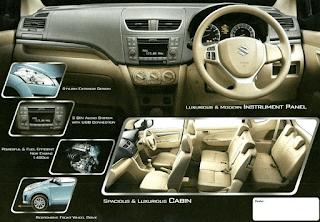 Harga dan perbaikan Suzuki New Ertiga pada Eksterior dan Interior