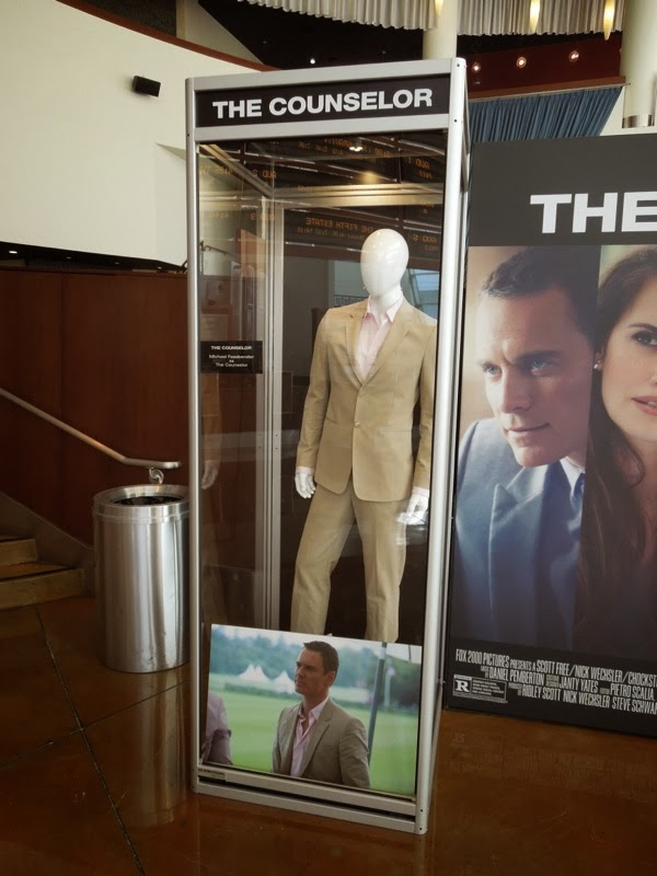 Michael Fassbender Counselor movie costume