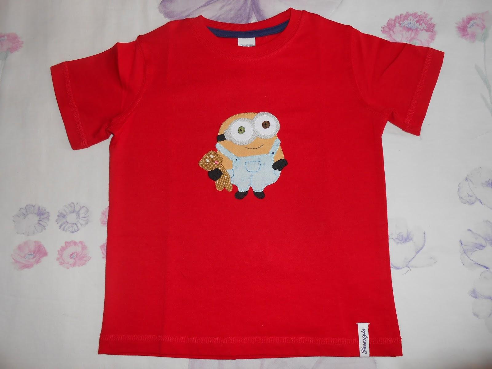 0b9aaf4e23 Hoy os dejo con la camiseta del entrañable y más pequeño de los minion