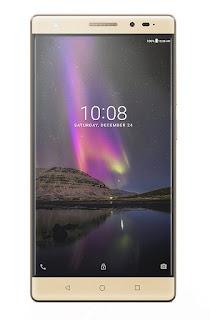 Lenovo Phab 2 Plus Smartphone (Gold, JBL earphones)