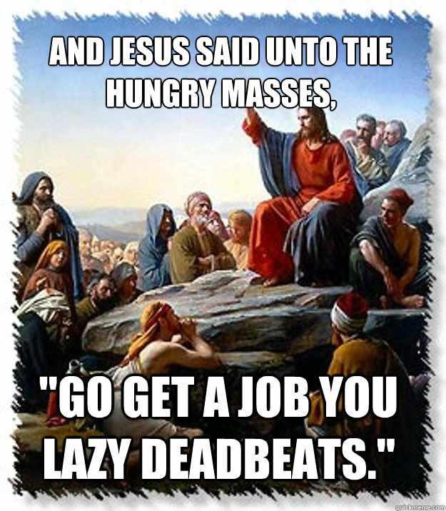 Political Memes: Jesus' Sermon On The Mount