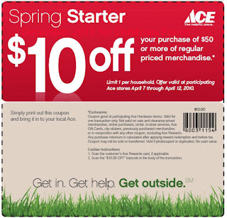 Ace Hardware coupons december 2016