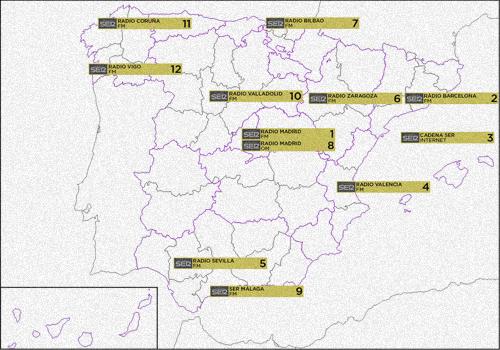 Mapa Cobertura Dab España.Agenda Digital Dab Foros Nowsat