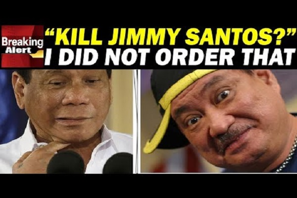 WATCH | Jimmy Santos special mention kay PRRD