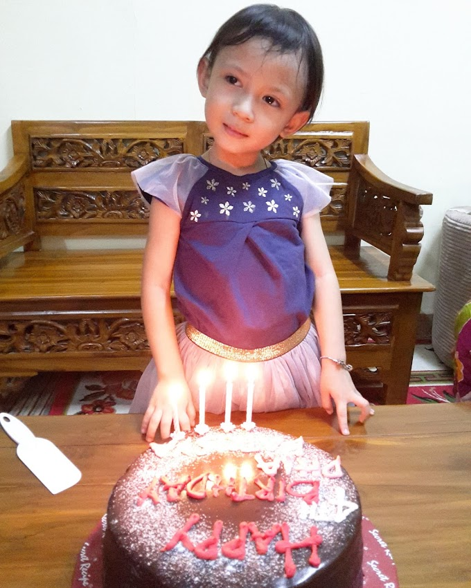 HAPPY 4TH BIRTHDAY DHIA BATRISYA