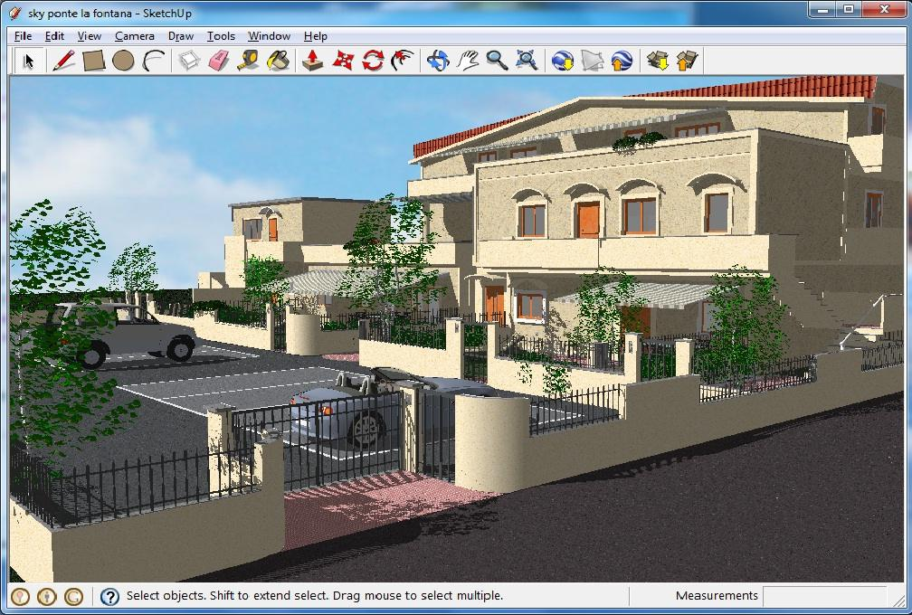 Google sketchup for Free 3d house design software online