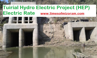 Tuirial Hydro Electric Project (HEP) Electric Bill/Rate Chungchang