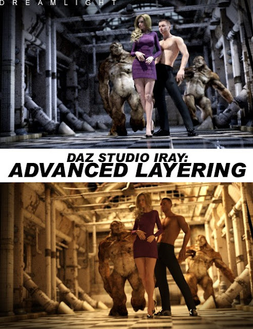 Daz Studio Iray Advanced Layering