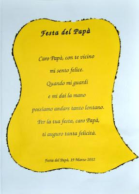 Il Blog di Bruno Pino Festa del pap 2012 Un attestato