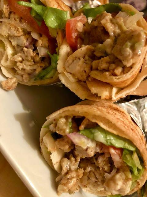 Sandwich au Chawarma Poulet