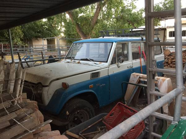 Potential Project, 1972 Toyota Land Cruiser FJ55