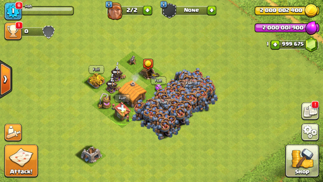 Download Clash of Clans ha ck Download Clash of t