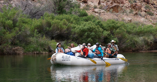 Rafting no Grand Canyon - dia 3 de 6 (18/05/2017)