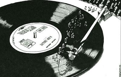 diriguiendo el disco